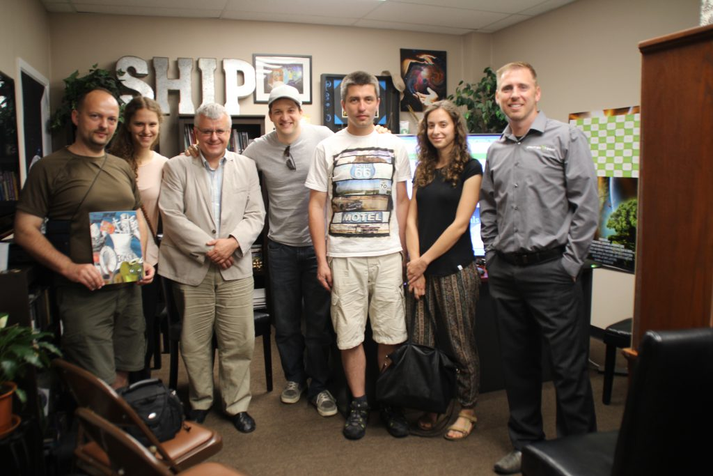 Z twórcami filmu Genesis 3D. Raj utracony (reż. Ralph Strean)